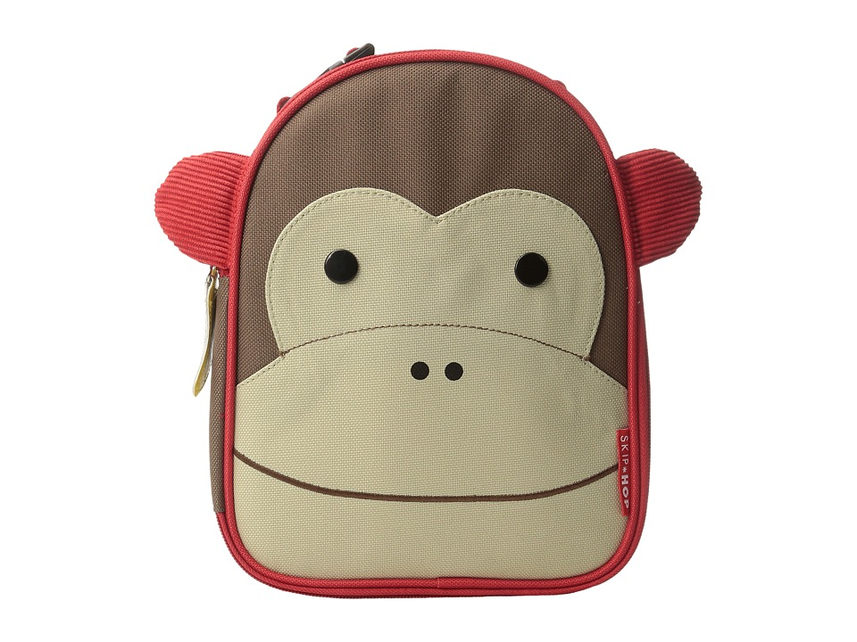 Skip Hop - Zoo Lunchies Insulated Lunch Bag (Monkey) Handbags