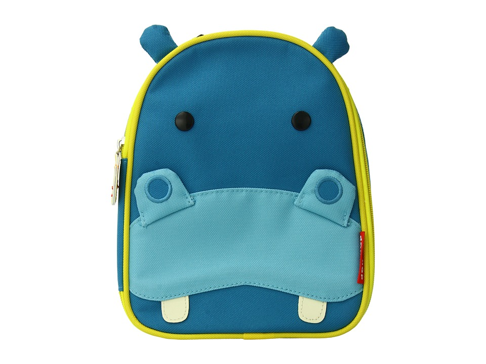 Skip Hop - Zoo Lunchies Insulated Lunch Bag (Hippo) Handbags