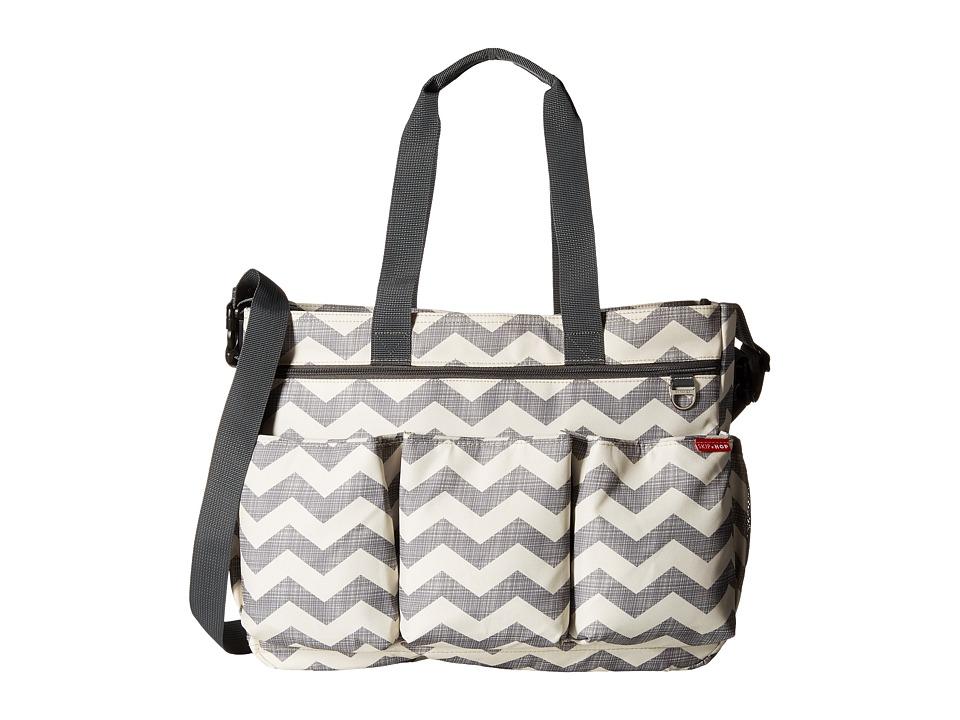 Skip Hop - Duo Double Signature (Chevron) Diaper Bags