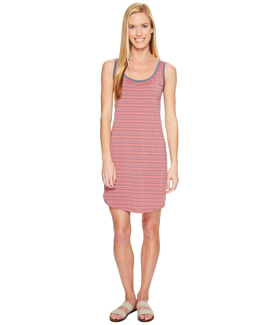 Icebreaker Yanni Tank Dress (Tulip/Gumtree/Stripe) Women