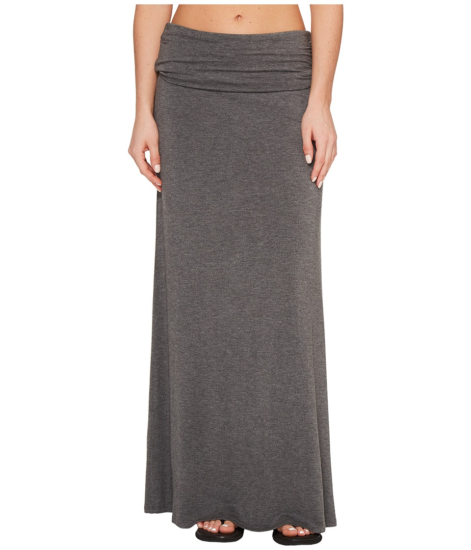 KAVU - Sanjula Skirt (Charcoal) Womens Skirt