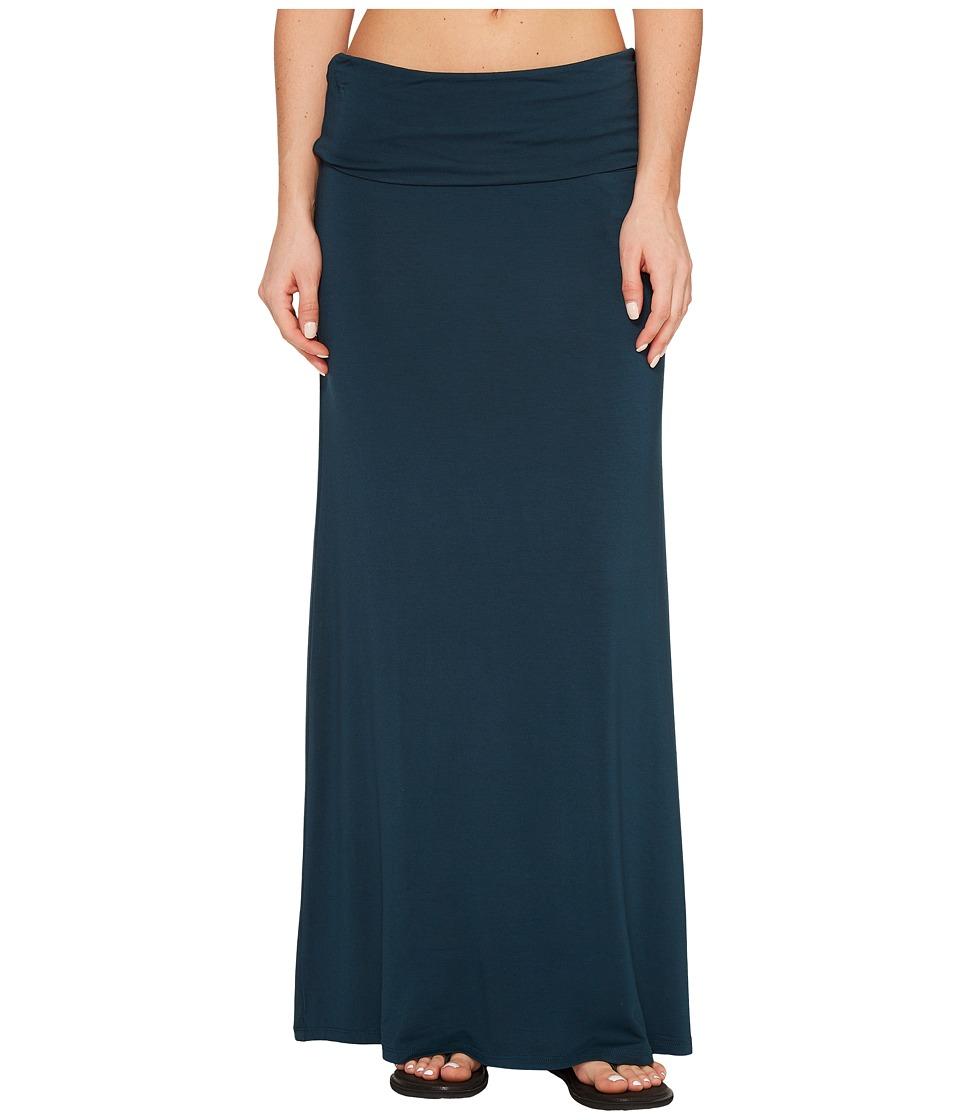 KAVU Sanjula Skirt (Deep Teal) Women