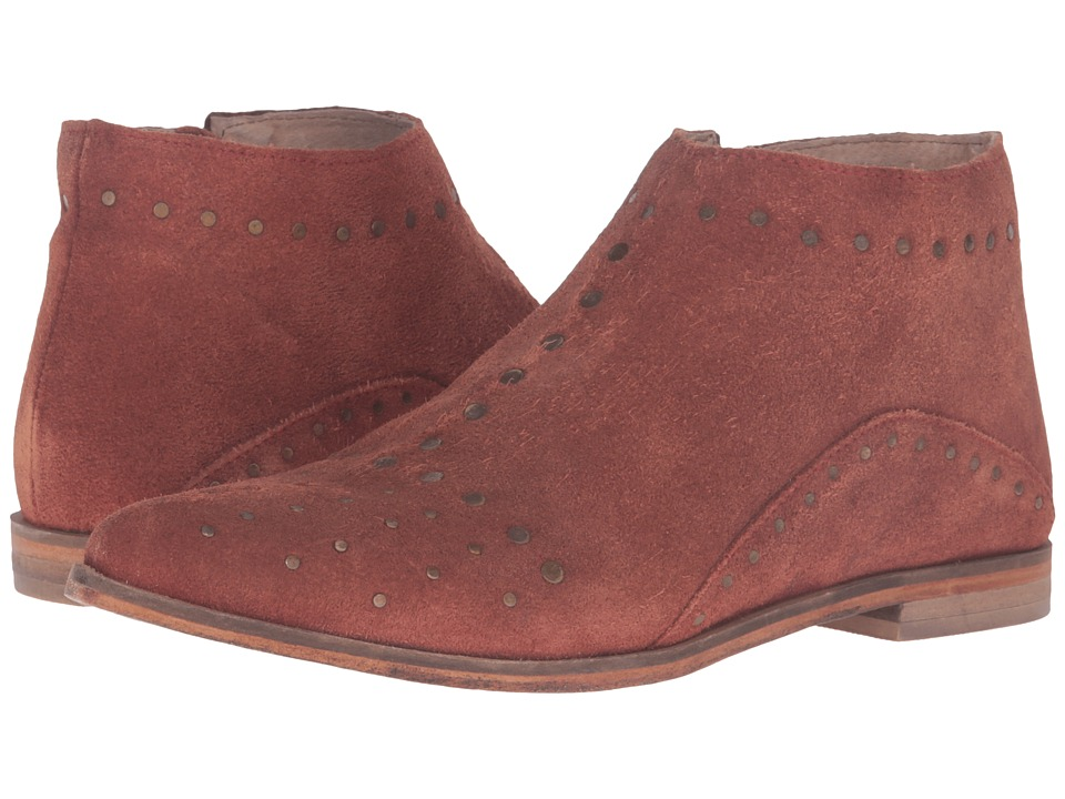 Free People - Aquarian Ankle Boot (Red) Women