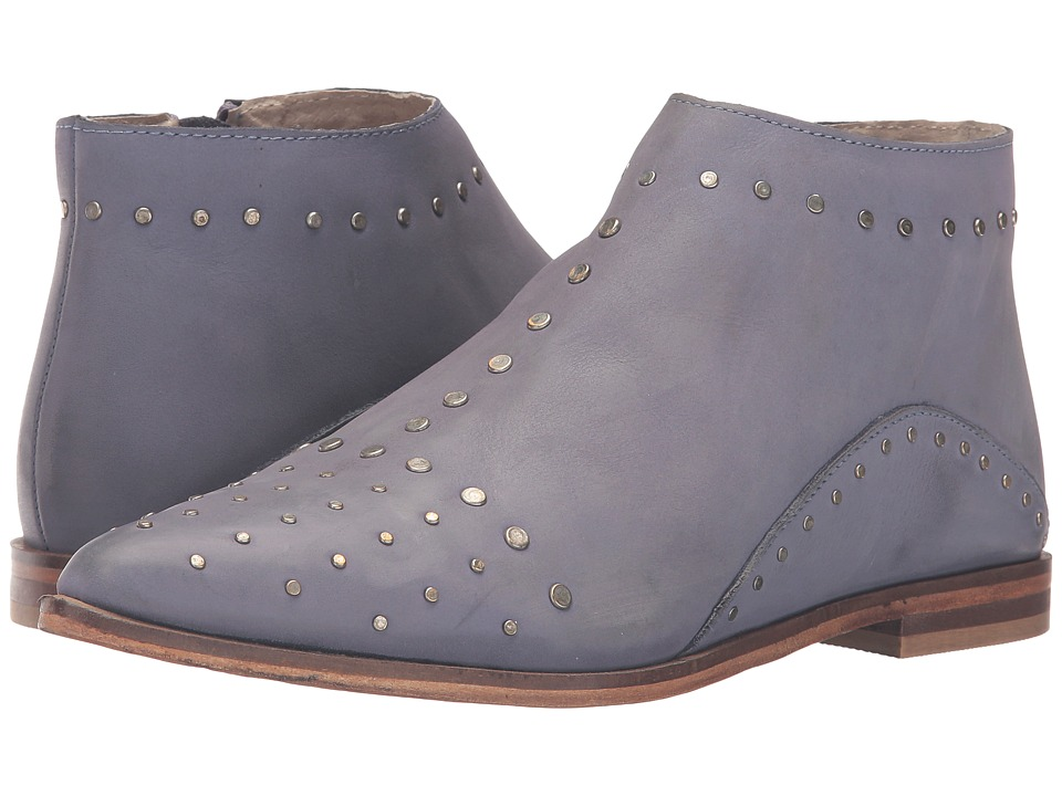 Free People - Aquarian Ankle Boot (Blue) Women