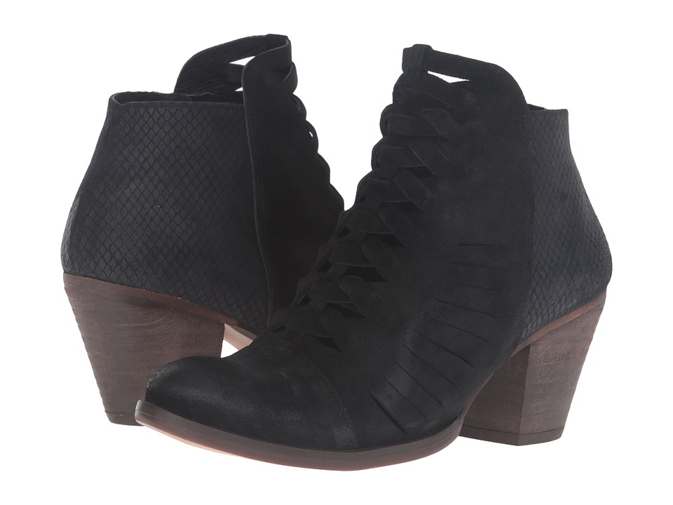 Free People Loveland Ankle Boot (Black) Women