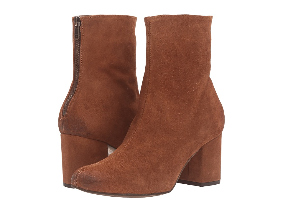 Free People Cecile Ankle Boot (Brown) Women