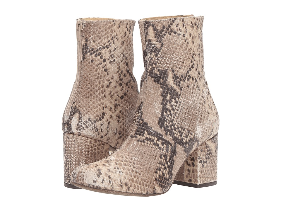 Free People Cecile Ankle Boot (Taupe) Women's Pull-on Boots