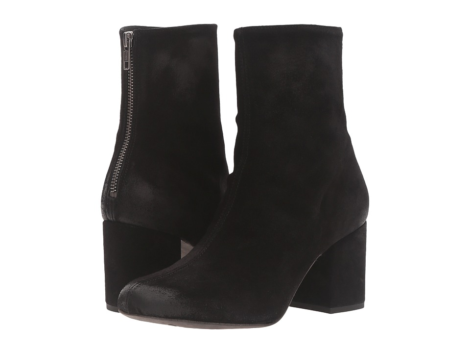 Free People Cecile Ankle Boot (Black) Women's Pull-on Boots