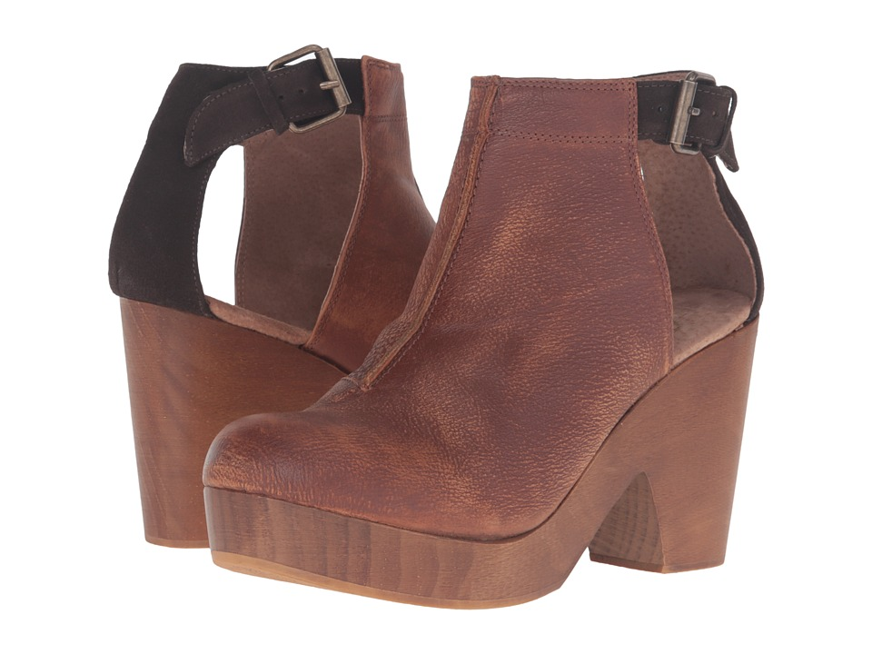 Free People Amber Orchard Clog (Chocolate) Clogs