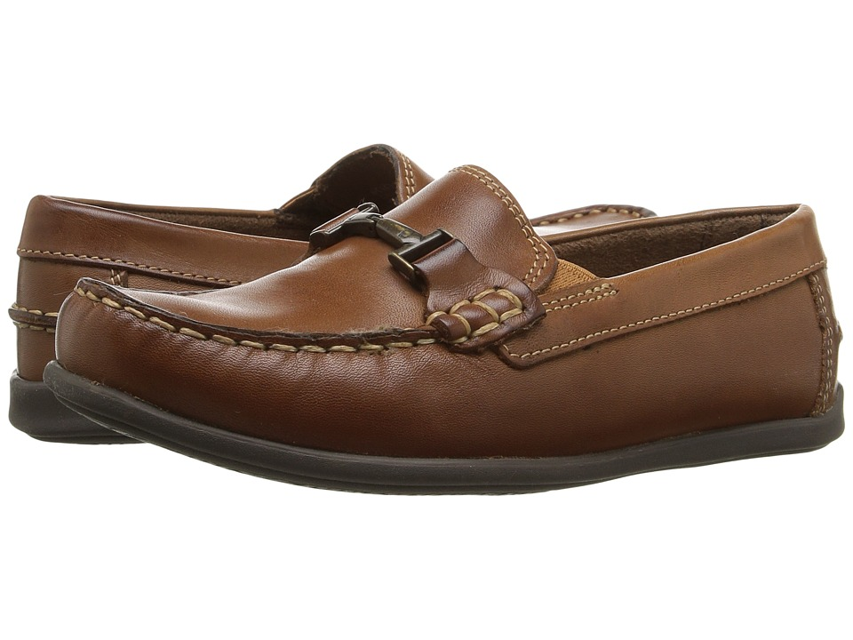 Florsheim Kids Jasper Bit, Jr. Loafer (Toddler/Little Kid/Big Kid) (Saddle Tan) Boys Shoes