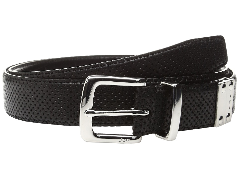 John Varvatos Lamb Reversible Belt (Black) Men