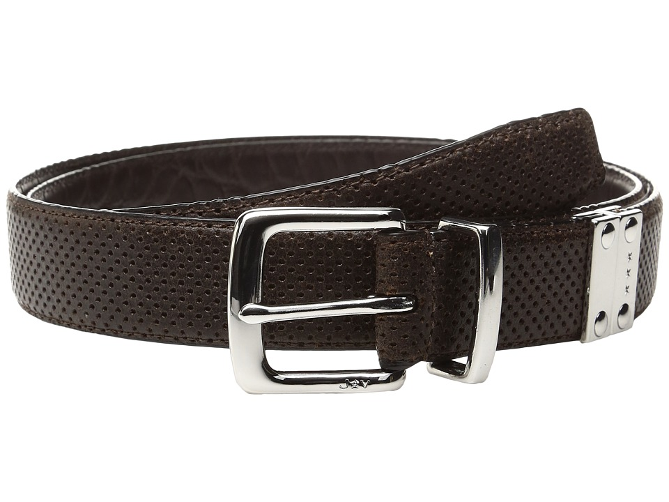 John Varvatos Lamb Reversible Belt (Chocolate) Men