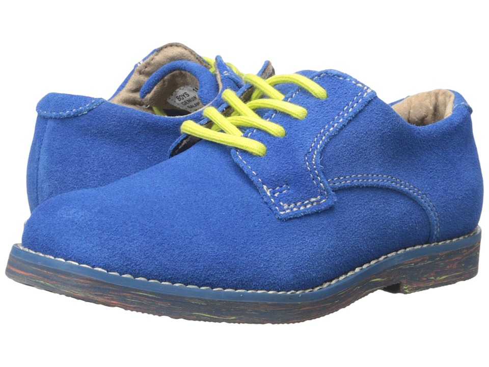 Florsheim Kids Kearny Jr. II (Toddler/Little Kid/Big Kid) (Electric Blue Suede) Boy's Shoes