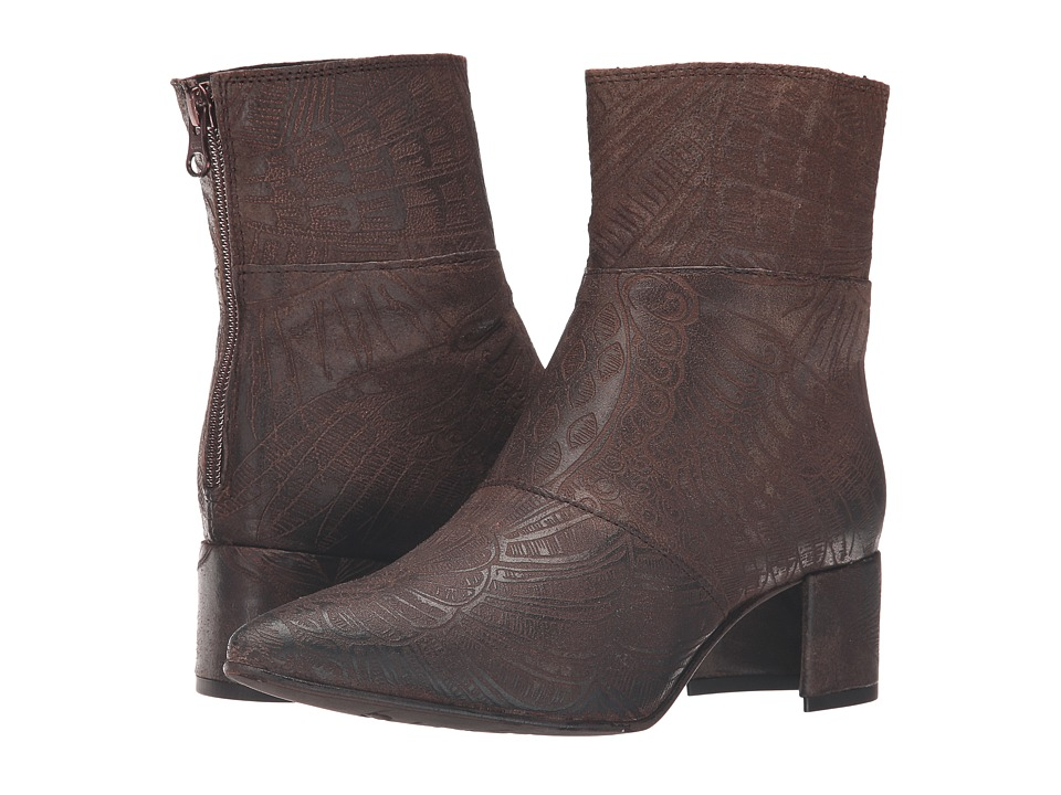 Free People - Aura Ankle Boot (Brown) Women