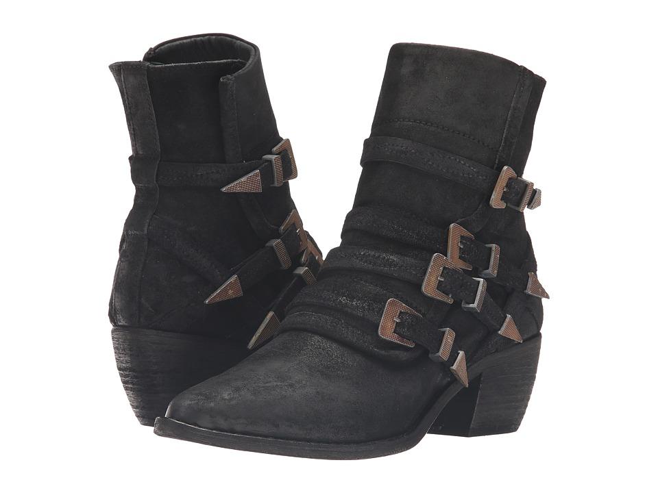 Free People Mason Western Boot (Black) Women
