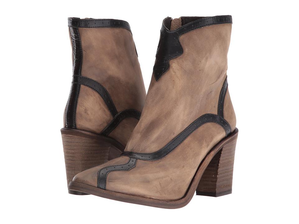 Free People Winding Road Heel Boot (Khaki) Women
