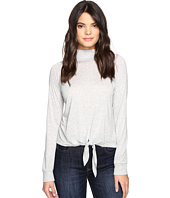 Lanston - Front Tie Turtleneck Top
