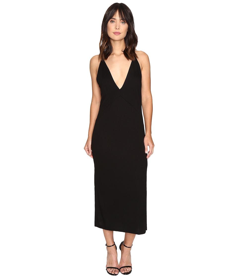Lanston - Slit Cami Midi Dress