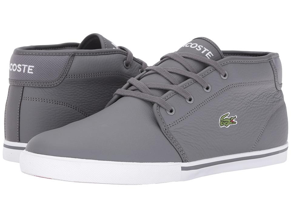 Lacoste - Ampthill G416 1 (Dark Grey/Dark Grey) Mens Shoes