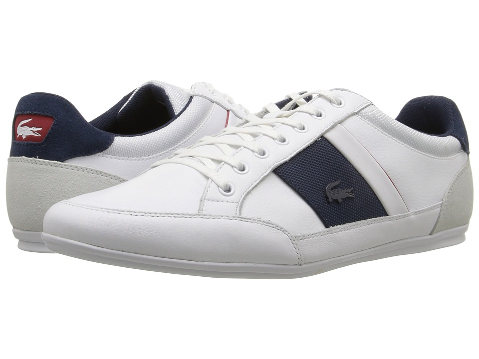 Lacoste Chaymon G416 1 (White/Navy) Men