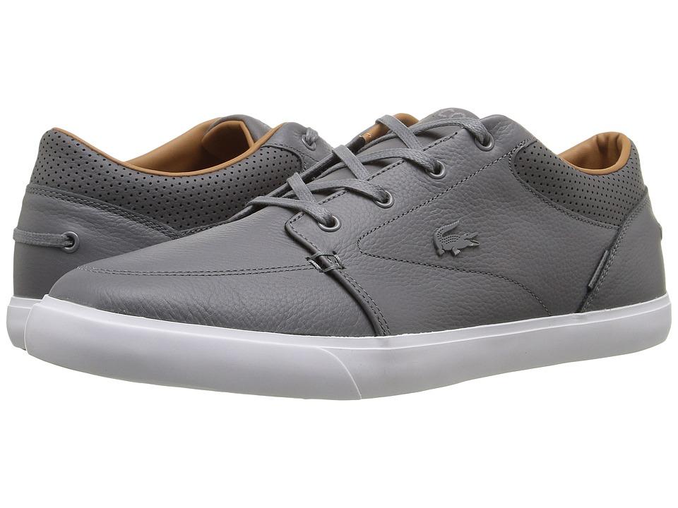 Lacoste - Bayliss Vulc G416 1 (Dark Grey/Dark Grey) Mens Shoes