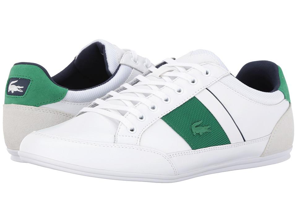 Lacoste Chaymon G416 1 (White/Green) Men
