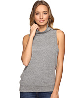 Lanston - Turtleneck Sleeveless Tank Top