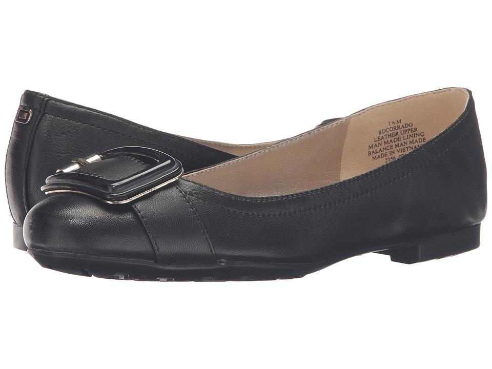 Bandolino - Corrado (Black/Black Leather) Women