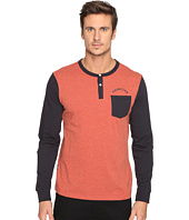 Primitive - Pocket Arch Long Sleeve Henley