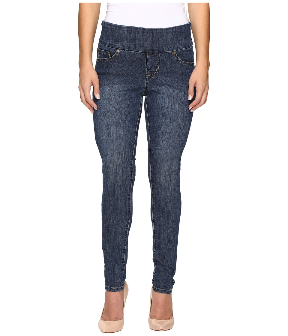 Jag Jeans Petite Petite Nora Pull-On Skinny Comfort Denim in Anchor Blue (Anchor Blue) Women