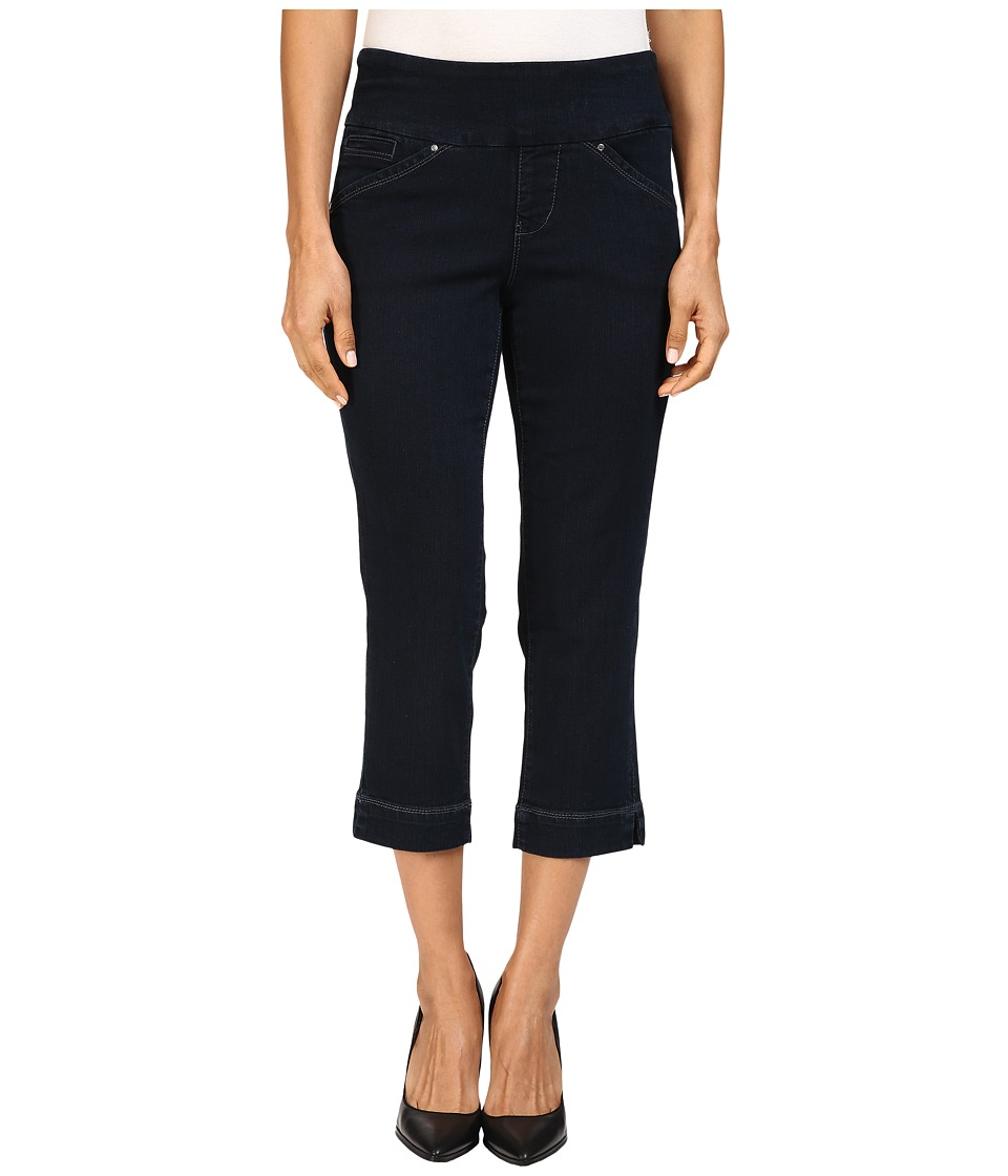 Jag Jeans Petite Petite Marion Pull-On Crop Comfort Denim in After Midnight (After Midnight) Women