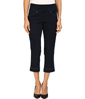 Jag Jeans Petite - Petite Marion Pull-On Crop Comfort Denim in After Midnight