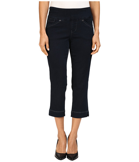 Jag Jeans Petite Petite Marion Pull-On Crop Comfort Denim in After Midnight