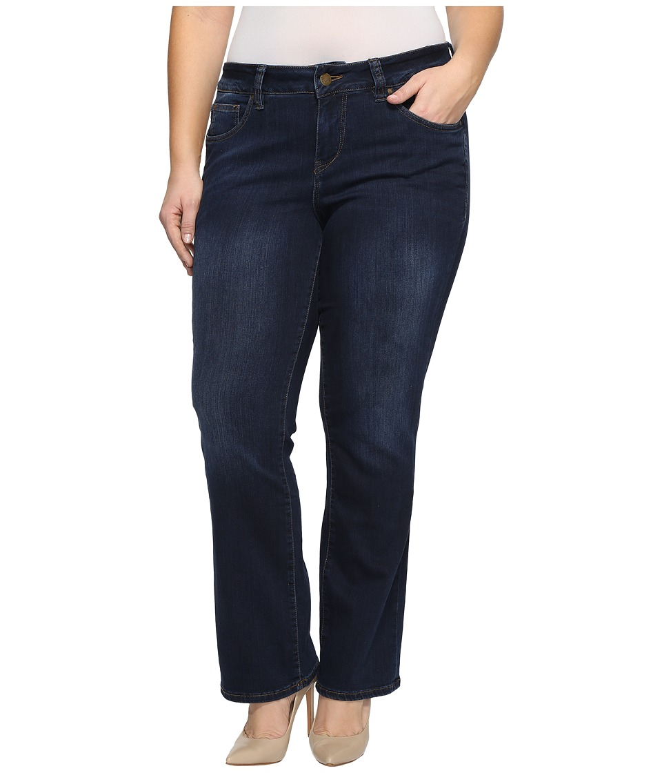 Jag Jeans Plus Size - Plus Size Atwood Boot in Platinum Denim in Indio (Indio) Women's Jeans