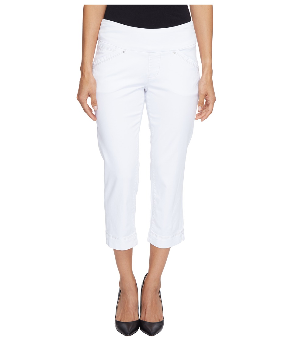 Jag Jeans Petite Petite Marion Pull-On Crop in Bay Twill (White) Women
