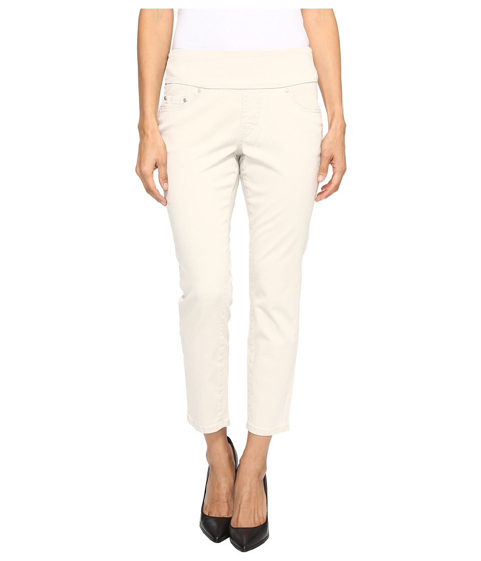 Jag Jeans Petite Petite Amelia Pull-On Slim Ankle in Bay Twill (Stone) Women