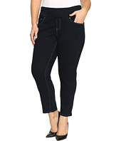 Jag Jeans Plus Size - Plus Size Amelia Pull-On Slim Ankle Comfort Denim in After Midnight