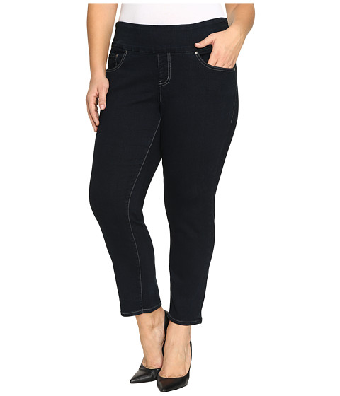 Jag Jeans Plus Size Plus Size Amelia Pull-On Slim Ankle Comfort Denim in After Midnight - After Midnight