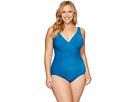 Miraclesuit - Plus Size Solids Oceanus One-Piece