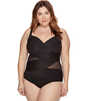Miraclesuit - Plus Size Solids Madero One-Piece