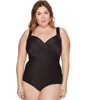 Miraclesuit - Plus Size Solids Sanibel One-Piece