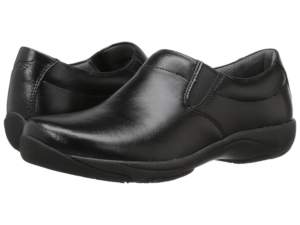 Dansko Ellie (Black Leather) Women