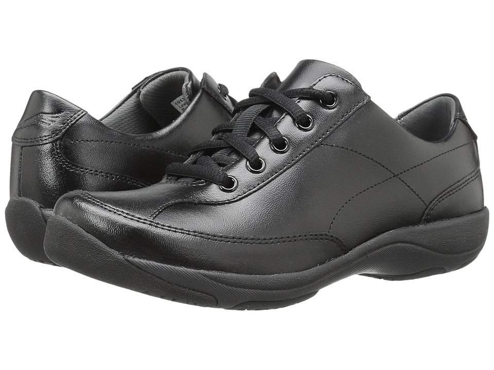 Dansko Emma (Black Leather) Women's  Shoes