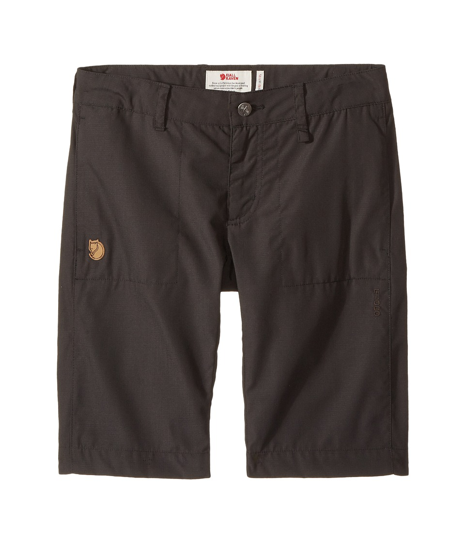 Fjallraven Kids - Abisko Shade Shorts (Little Kids/Big Kids) (Dark Grey) Boys Shorts
