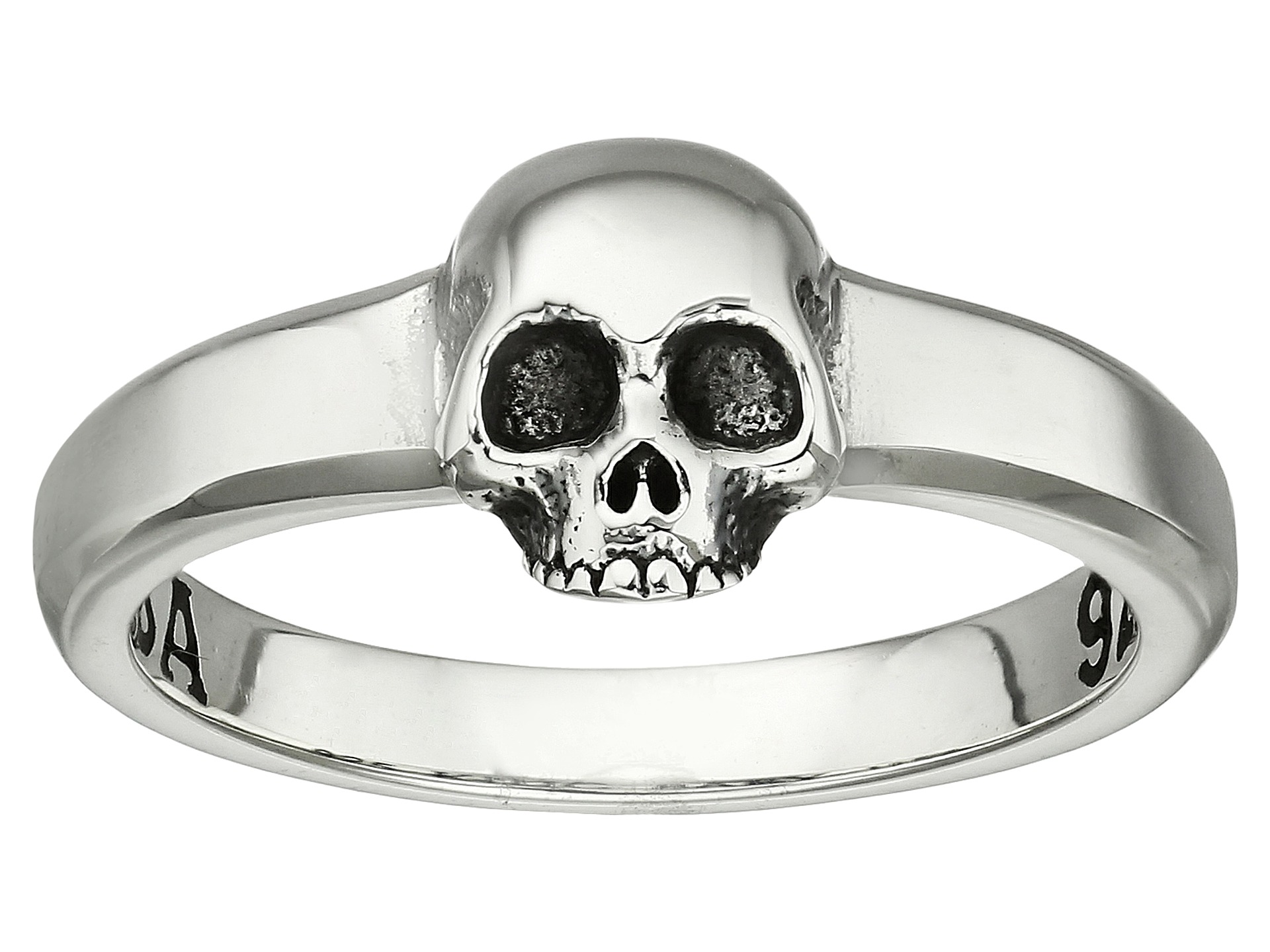 King baby studio hamlet skull ring at for King baby jewelry sale