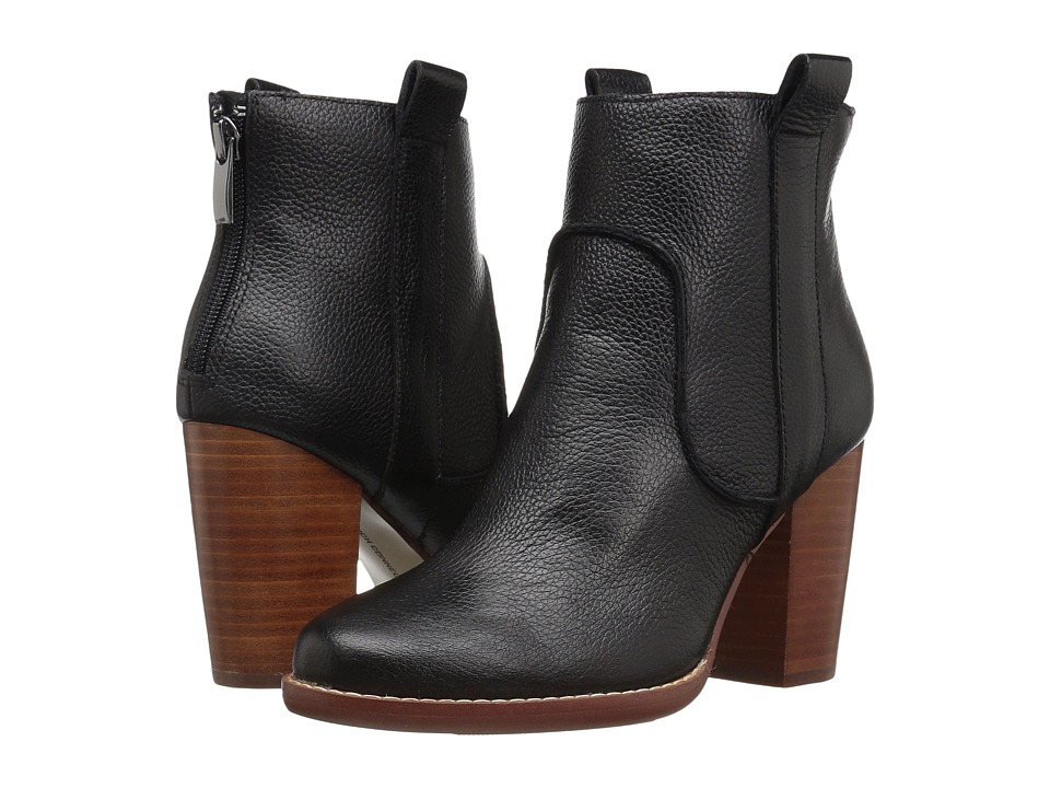 French Connection - Avabba (Black Tumbled Leather) Women