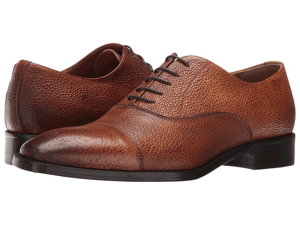 Kenneth Cole New York Coat N Tie (Cognac) Men
