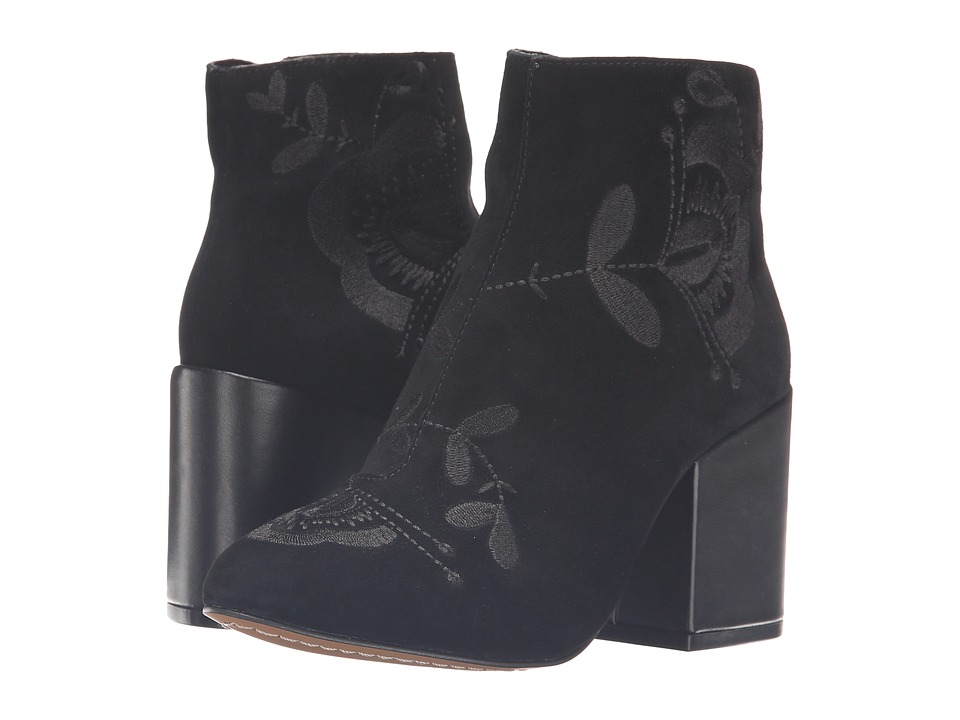 French Connection - Dilyla (Black Kid Suede) Women