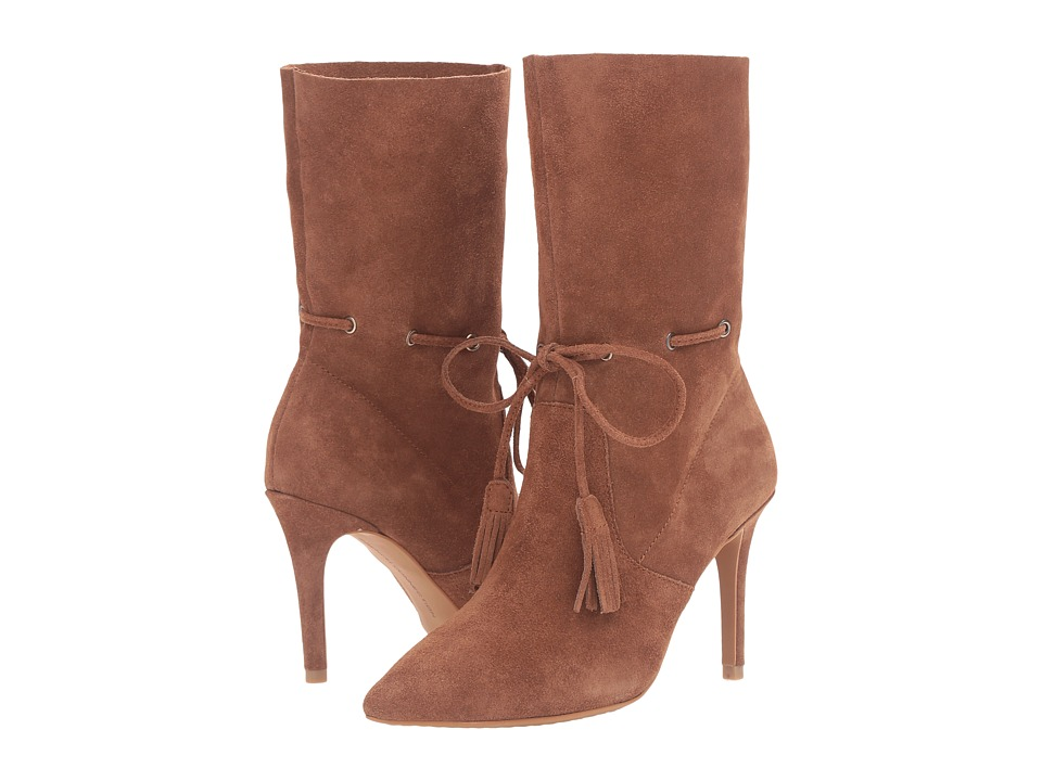 French Connection - Rowdy (Tan Split Suede) Women