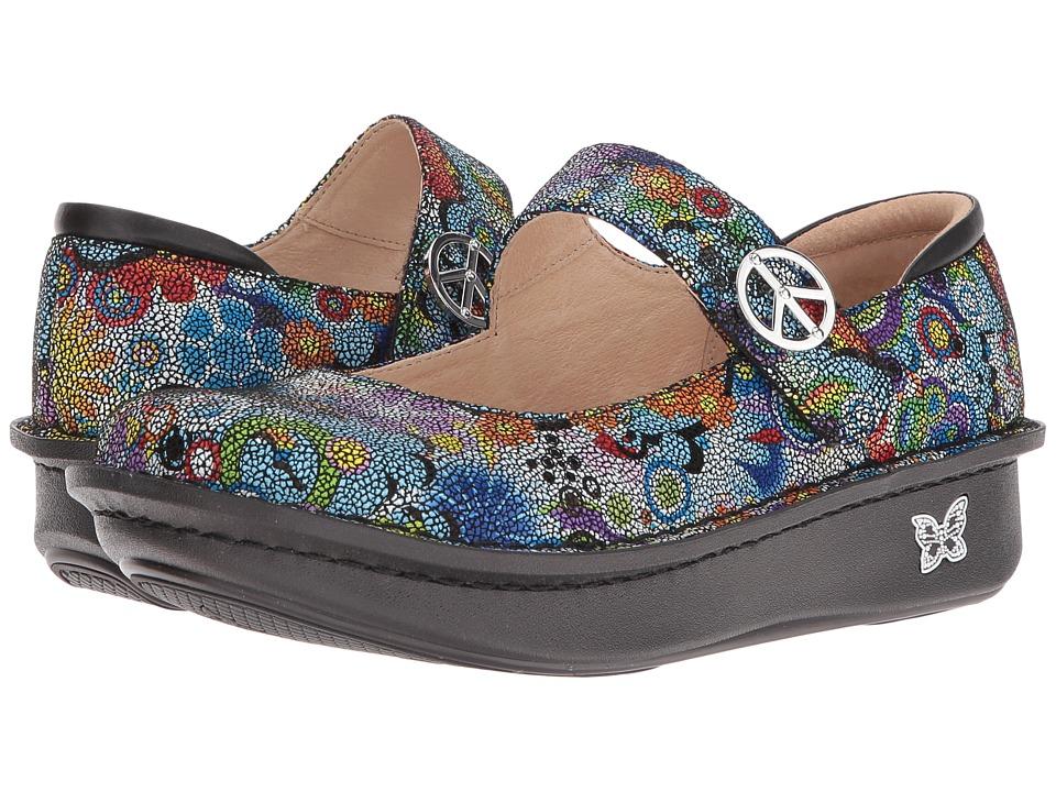 Alegria Paloma (Hippie Chic Dottie) Maryjane Shoes